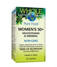 NATURAL FACTORS Whole Earth & Sea Women's 50+ / 60 Tab
