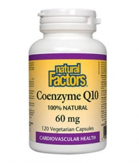 NATURAL FACTORS Coenzyme Q10 60mg / 120 Vcaps