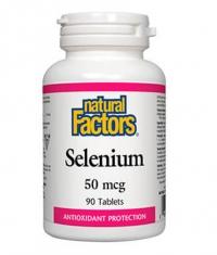 NATURAL FACTORS Selenium 50mcg / 90 Tabs
