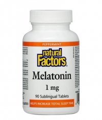 NATURAL FACTORS Melatonin 1mg / 90 Tabs