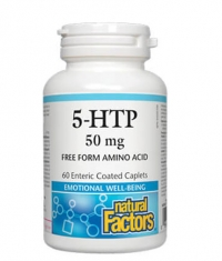 NATURAL FACTORS 5-HTP 50mg / 60 Caps