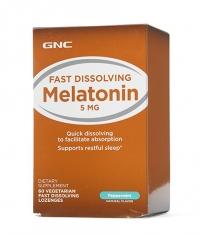 GNC Melatonin Peppermint 5mg / 60 Lozenges