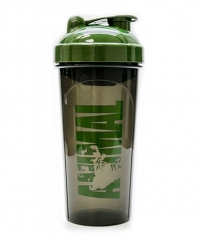 UNIVERSAL ANIMAL Military Green Whey Iconic Black Shaker