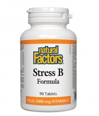 NATURAL FACTORS Vitamin B Stress Formula / 90 Tabs.