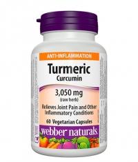 WEBBER NATURALS Turmeric Curcumin 3050 / 60 Vcaps.