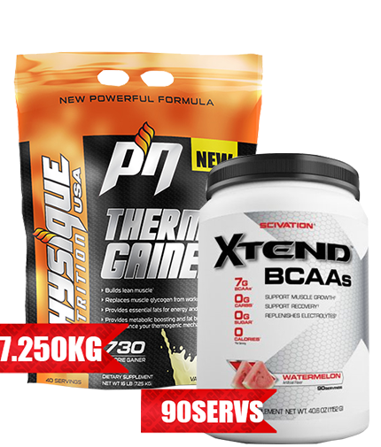promo-stack Thermo GAINER + XTEND 90 serv.