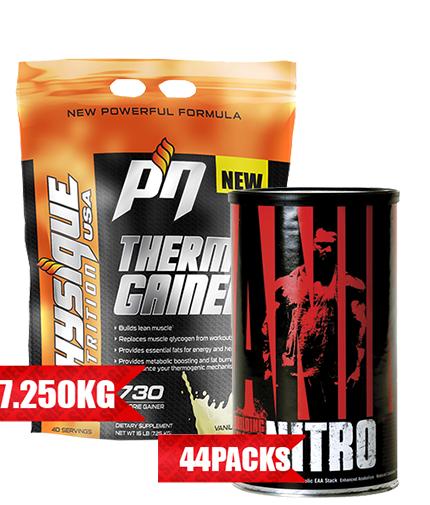 promo-stack Thermo GAINER + Animal Nitro 44