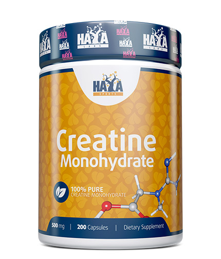 haya-labs Sports Creatine Monohydrate 500mg / 200 Caps.