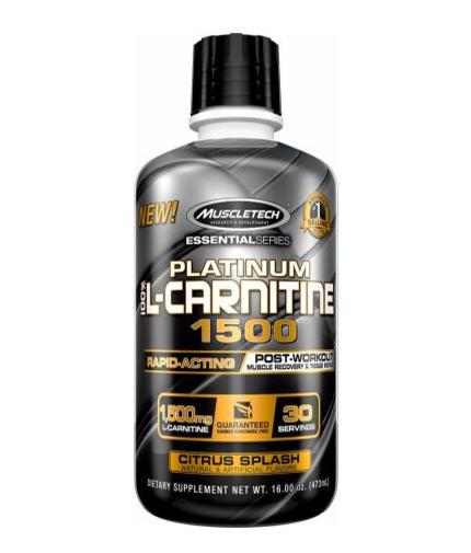 muscletech Platinum 100% L-Carnitine 1500 / 473ml.