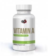 PURE NUTRITION Vitamin A 10,000IU / 100 Softg.