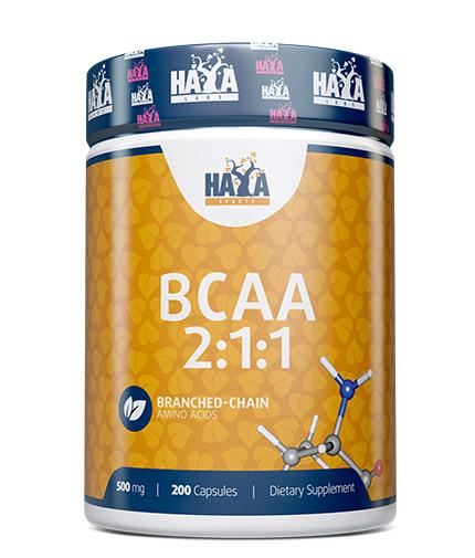 haya-labs Sports BCAA 2:1:1 500mg / 200 caps