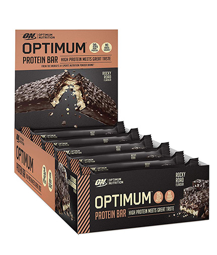 optimum-nutrition Optimum Protein Bars Box 10x60gr.