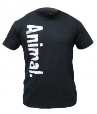 UNIVERSAL ANIMAL Black T-Shirt