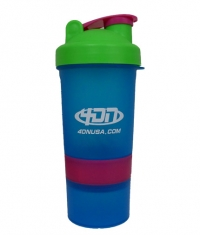 4DN Shaker Bottle Blue 400ml.