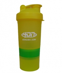 4DN Shaker Bottle Yellow 400ml.