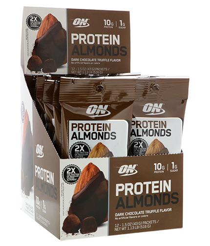 optimum-nutrition Protein Almonds / 12 Packets