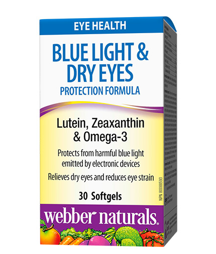 webber-naturals Blue Light Dry Eyes Protection Formula / 30 Softgels