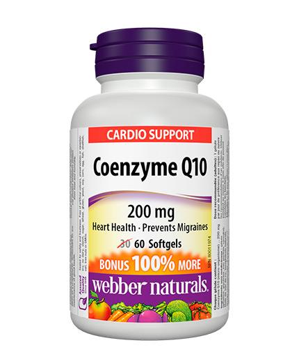 webber-naturals Coenzyme Q10 200mg / 60 Softgels