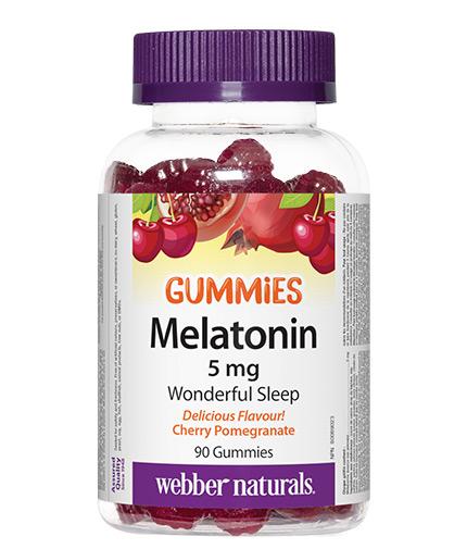 webber-naturals Melatonin Gummies 5mg. / 90 Gummies
