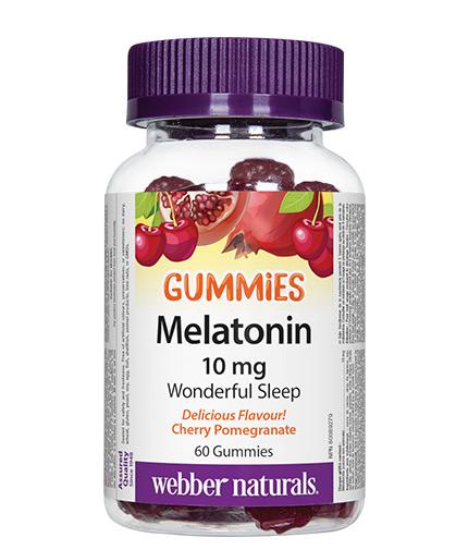 webber-naturals Melatonin Gummies 10mg. / 60 Gummies