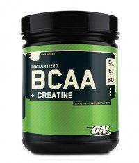 OPTIMUM NUTRITION Instantized BCAA + Creatine / 60 Serv.
