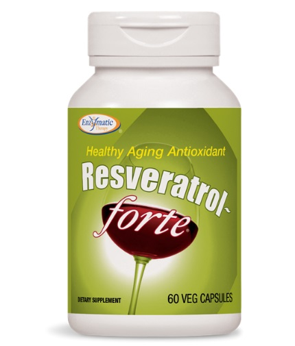 natures-way Resveratrol Forte 325mg. / 60 Vcaps