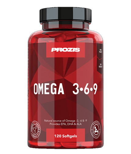 prozis Omega 3-6-9 / 120 Softgels