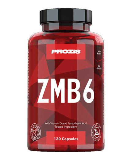 prozis ZMB6 - Zinc + Magnesium + B6 / 120 Caps