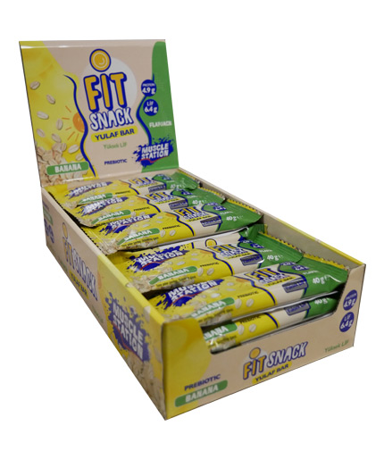muscle-station Fit Snack Banana Box 24x40