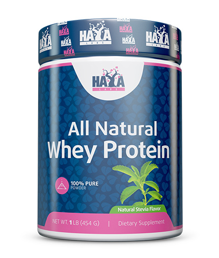 HAYA LABS 100% Pure All Natural Whey Protein / Stevia