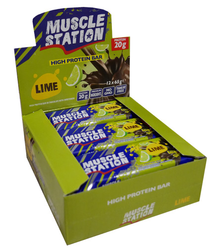 muscle-station Lime Box 12x65