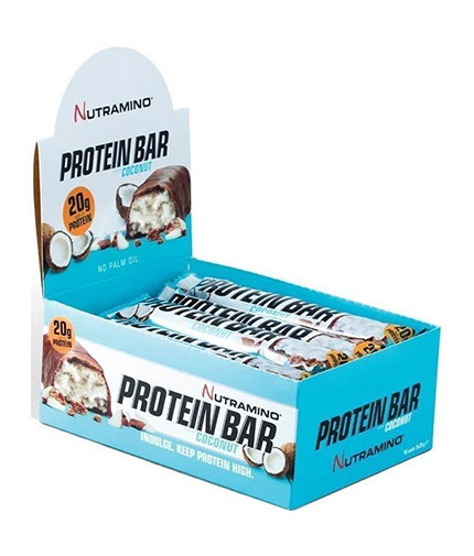 nutramino Protein Bar Coconut Box 12x66