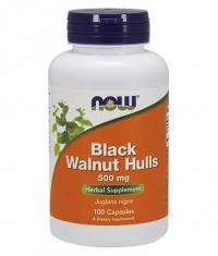 NOW Black Walnut Hulls 500mg. / 100 Caps.