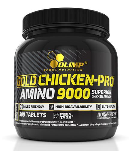 olimp Gold Chicken Pro Amino 9000 / 300 Tabs
