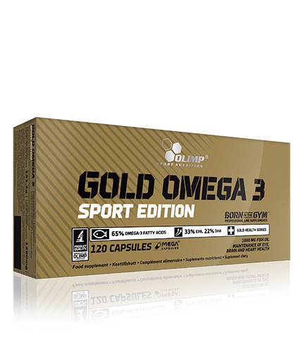 olimp Gold Omega-3 120 caps Sport Edition / 120 Caps