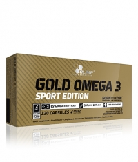 OLIMP Gold Omega-3 120 caps Sport Edition / 120 Caps