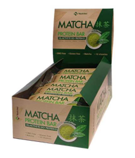 nutrim Matcha Protein Bar Box 15x60g
