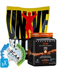 PROMO STACK Universal + Performix + BCAA