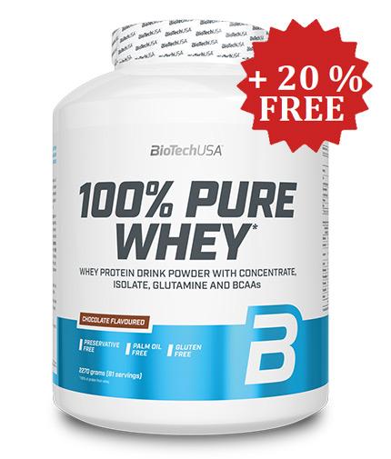 biotech-usa 100% Pure Whey + 20% FREE