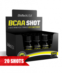 BIOTECH USA BCAA SHOT / 20x60ml.