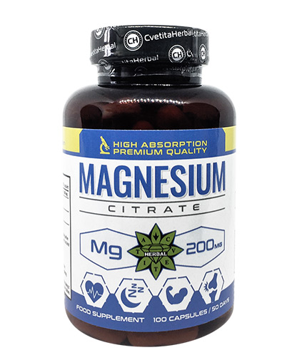cvetita-herbal Magnesium Citrate 200mg / 100 Caps