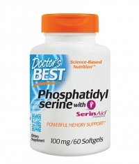 DOCTOR'S BEST Phosphatidyl Serine 100mg / 60 Softgels