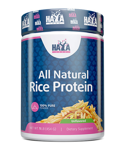 haya-labs 100% All Natural Rice Protein / Unflavored