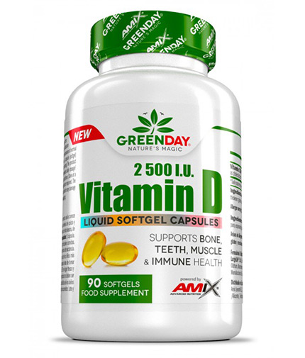 AMIX Vitamin D3 / 90 Softgels