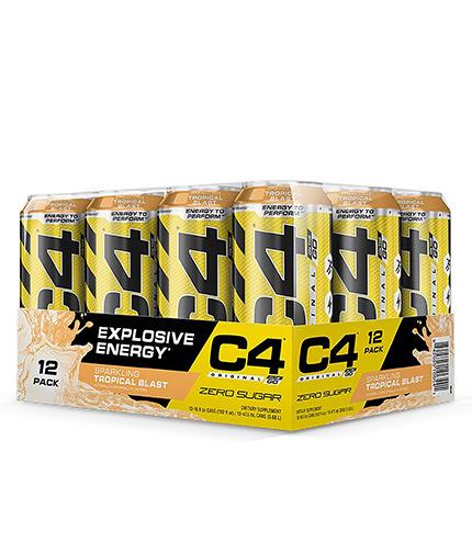 cellucor C4 Carbonated Box / 12x473ml