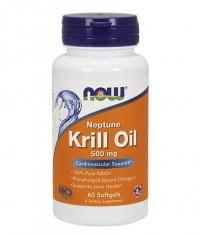 NOW Neptune Krill Oil 500mg. / 60 Softgels