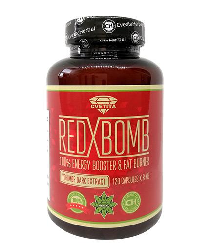 cvetita-herbal Red X Bomb / 120 Caps.