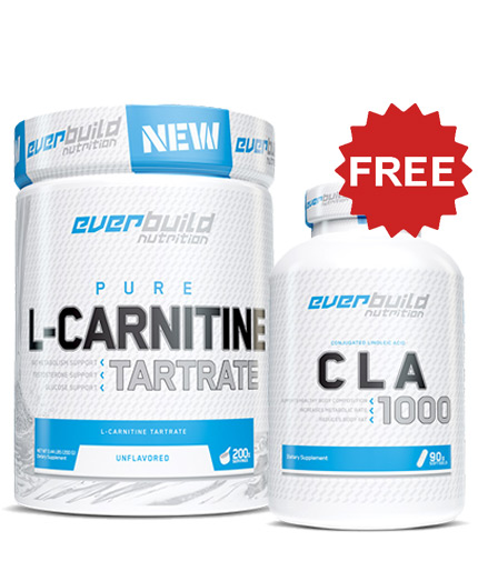 promo-stack EB L-Carnitine Tartrate + CLA