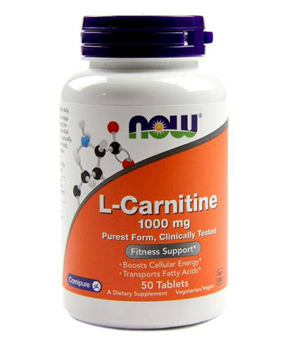 now L-Carnitine 1000mg / 50 Tabs
