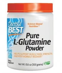 DOCTOR'S BEST Pure L-Glutamine Powder